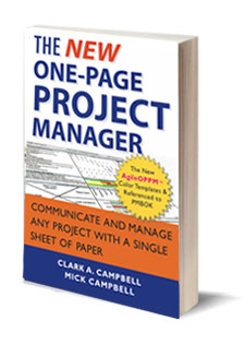 The One-Page Project Manager