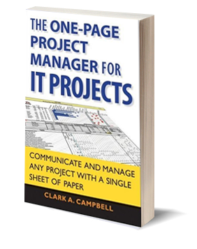 The One-Page Project Manager for It Projects