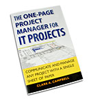The One-Page Project Manager for IT